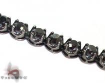 Black Diamond Chain 30 Inches 6mm 82 Grams Diamond