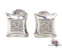 Diamond Earrings 19847 Mens Stud Earrings