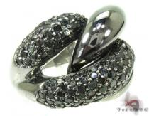 Black Diamond Ring 19860 Anniversary/Fashion