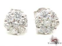 SI2 Round Cut Stud Earring Style