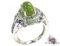 Ladies Silver Gemstone Ring 19958 Silver Rings For Women