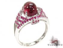 Ladies Silver Gemstone Ring 19964 Silver Rings For Women