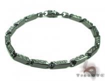 Black Silver Bracelet 20262 Sterling Silver Bracelets