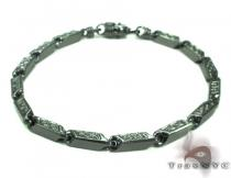Black Silver Bracelet 20262 シルバー ブレスレット