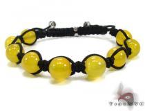 Yellow Chalcedony Bracelet 20306 Rope Bracelets