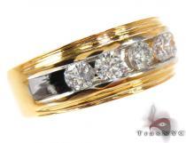 Two Tone Colossal Ring メンズ ダイヤモンド 結婚指輪