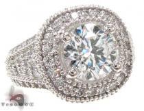 Ladies White Gold Prong Diamond Ring 20913 Engagement