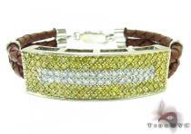Mens Two Color Diamond Bracelet 21022 メンズ ダイヤモンド ブレスレット