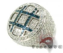 Invisible Ocean XL Ring Mens Diamond Rings