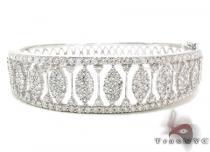 Ladies Prong Diamond Bracelet 21249 ダイヤモンド ブレスレット