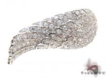 Clear CZ Wing Ring 21320 Silver Rings For Women