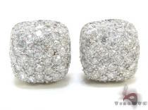 Diamond Pillow Earrings 21332 Mens Diamond Earrings