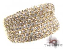 Unisex Pave Diamond Ring 21508 メンズ ダイヤモンド リング