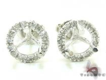 Ladies Diamond Semi Mount Earring 21513 Diamond Earring Settings