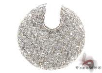 Ladies Pave Diamond Pendant 21528 ダイヤモンドペンダント