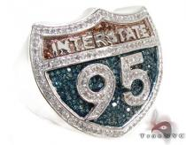 Mens Interstate Ring 21578 Mens Diamond Rings