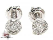 Ladies Prong Diamond Earrings 21586 Diamond Stud Earrings