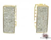 Ladies Micro Pave Diamond Earrings 21623 レディース ダイヤモンドイヤリング