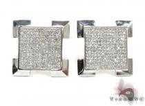 Mens Diamond Earrings 21663 Mens Diamond Earrings
