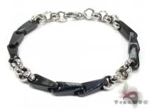 Mens Stainless Steel Bracelet 21715 ステンレススティール ブレスレット