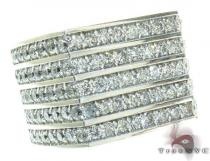 Round Cut Solid Ring Mens Diamond Rings