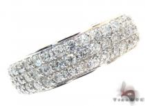 3 Row Diamond Ring 21723 メンズ ダイヤモンド 結婚指輪
