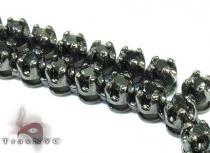 2 Row Diamond Chain 30 Inches 8mm 99.7 Grams ダイヤモンド チェーン