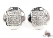 Prong Diamond Earrings 21772 Mens Diamond Earrings