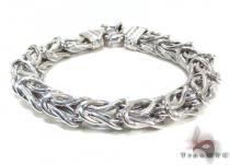 Ladies Silver Bracelet 21827 ステアリングシルバーブレスレット