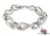 Ladies Silver Bracelet 21835 ステアリングシルバーブレスレット
