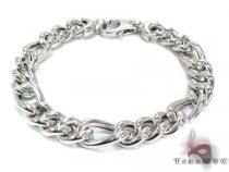 Unisex Silver Bracelet 21837 シルバー ブレスレット