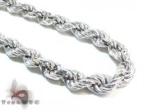 Ladies Silver Chain 18 Inches 7mm 33.2 Grams シルバーネックレス