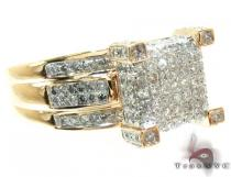 Ladies Yellow Gold Diamond Ring 21846 Diamond Wedding Rings