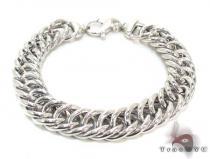 Ladies Silver Bracelet 21848 ステアリングシルバーブレスレット