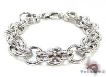 Ladies Silver Bracelet 21850 ステアリングシルバーブレスレット