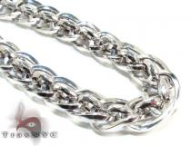 Silver Chain 18 Inches 12mm 41.3 Grams シルバーチェーン