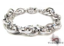 Ladies Silver Bracelet 21854 ステアリングシルバーブレスレット