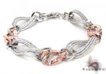 Ladies Silver Bracelet 21860 ステアリングシルバーブレスレット