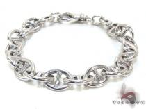 Ladies Silver Bracelet 21864 ステアリングシルバーブレスレット