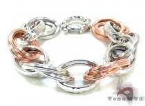 Ladies Silver Bracelet 21870 ステアリングシルバーブレスレット