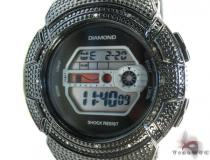 Aqua Master Diamond Shock Watch Black Aqua Master