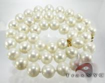 Ladies Pearl Necklace 10mm Pearl
