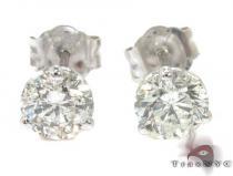 Ladies Prong Diamond Stud Earrings 22081 レディース ダイヤモンドイヤリング