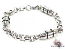 Mens Stainless Steel Bracelet 22082 ステンレススティール ブレスレット