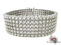 Toni 6 Row Bracelet Mens Diamond Bracelets