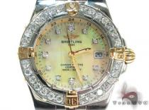 Diamond Breitling Windrider Starliner Ladies Watch B71340 Breitling