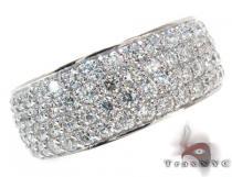 White Gold Round Cut Prong Diamond Ring メンズ ダイヤモンド リング