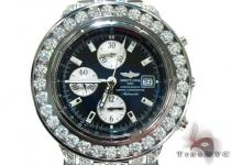 Fully Iced Breitling Watch Breitling