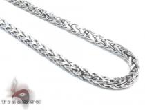 White Gold Chain 16 Inches 3mm 8.8 Grams Gold