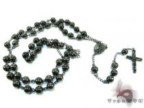 Stainless Steel Rosary 24 Inches 8mm 102.2 Grams Rosary